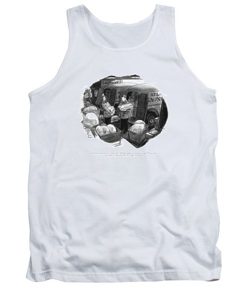 From What You Say Tank Top