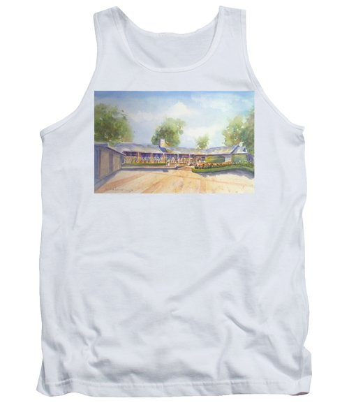 Front Of Home Tank Top by Debbie Lewis