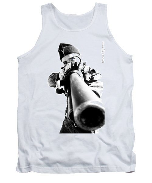 Tank Top featuring the photograph Frozen Kill by Stwayne Keubrick