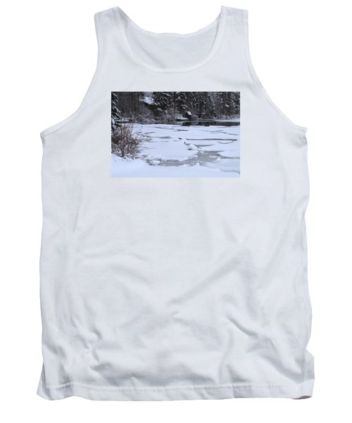 Frozen Silence  Tank Top by Duncan Selby