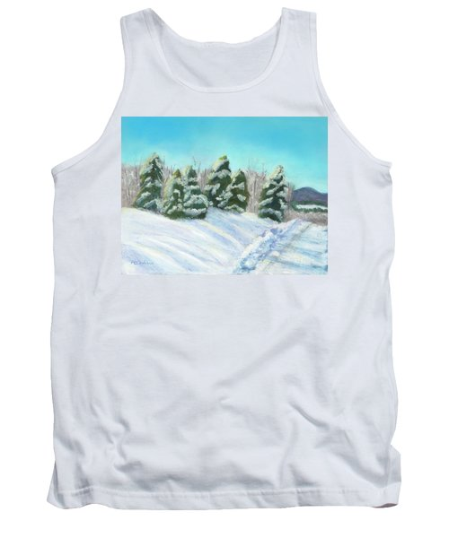 Tank Top featuring the painting Frozen Sunshine by Arlene Crafton