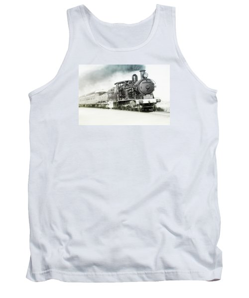Tank Top featuring the photograph Full Steam Ahead by Kevin Chippindall