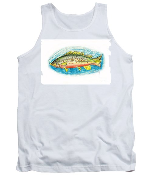Funky Trout Tank Top