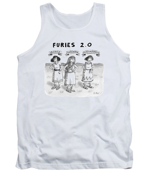 Furies 2.0 -- Ironia Tank Top