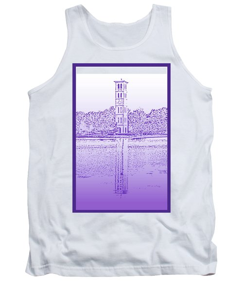 Furman Bell Tower Tank Top