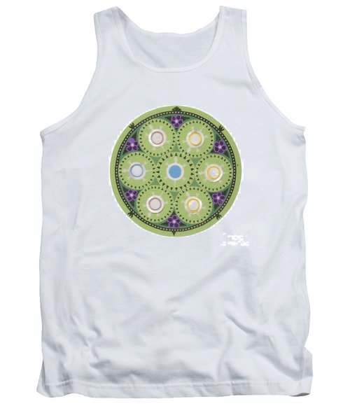 Cradleboard Beadwork Tank Top