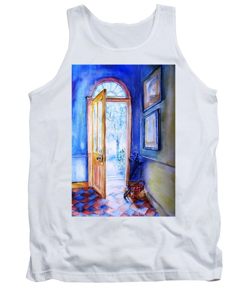 Winter Doorway Ireland    Tank Top by Trudi Doyle