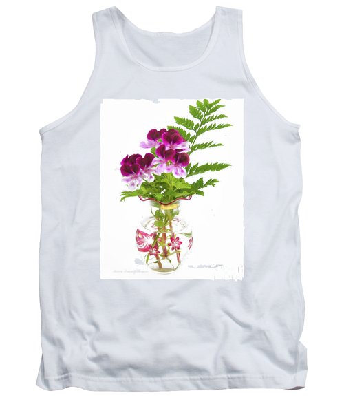 Geranium 'witchwood' Tank Top