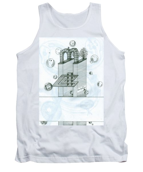 Ghostly Music 1 Tank Top