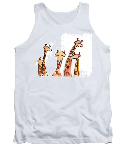 Giraffes Tank Top