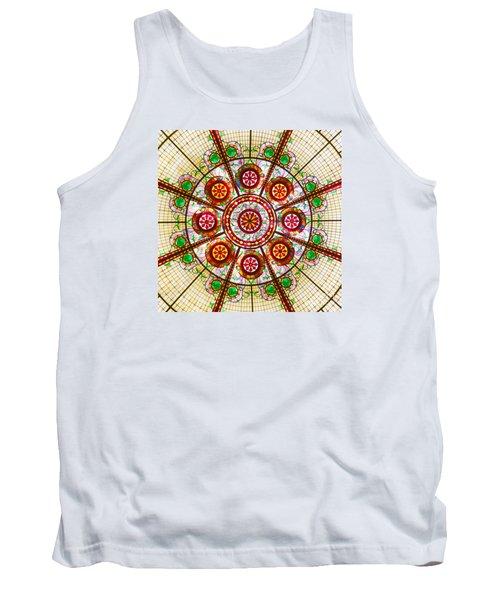 Glass Dome Tank Top by Val Miller