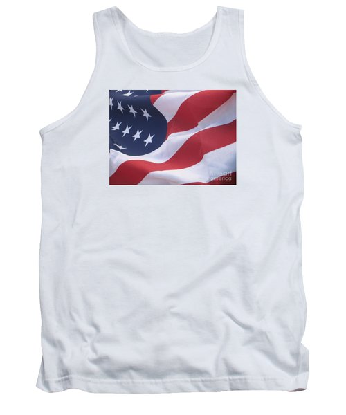 Tank Top featuring the photograph God Bless America by Chrisann Ellis