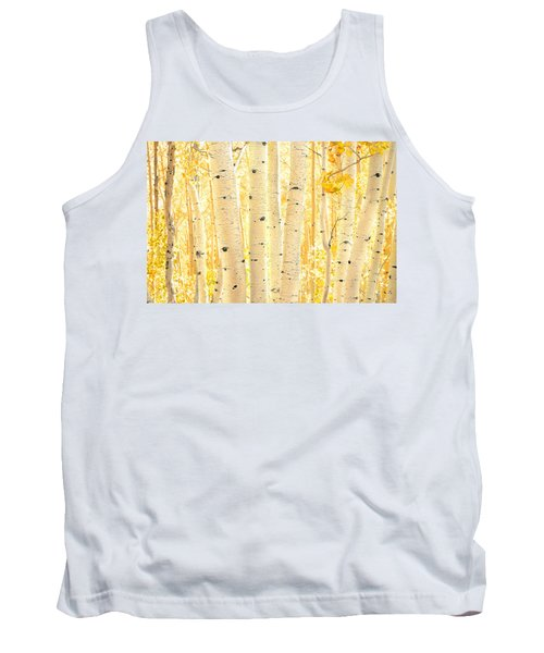 Golden Aspens Utah Tank Top