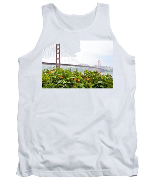 Golden Gate Bridge 2 Tank Top