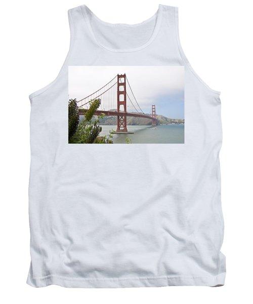 Golden Gate Bridge 3 Tank Top