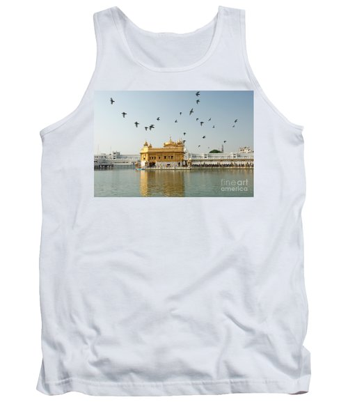 Golden Temple In Amritsar Tank Top