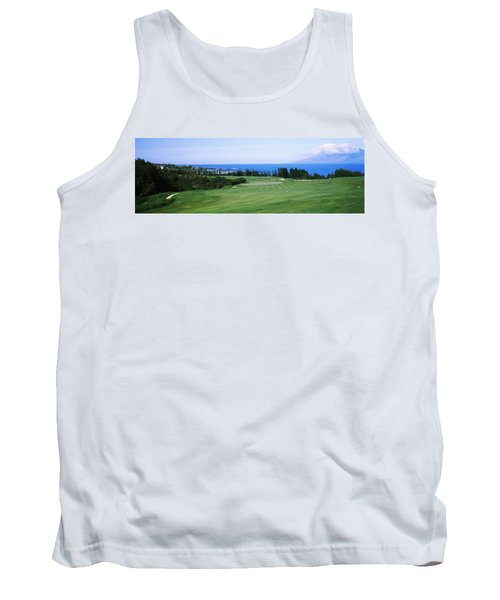 Golf Course At The Oceanside, Kapalua Tank Top