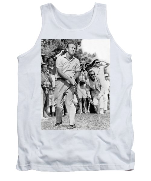 Golfer Arnold Palmer Tank Top