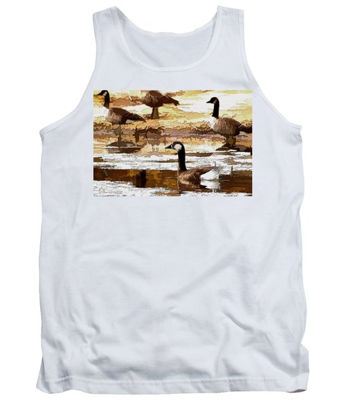 Goose Abstract Tank Top