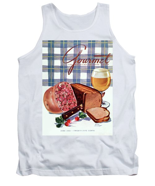Gourmet Cover Featuring Bread Tank Top