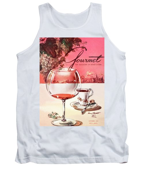 Gourmet Cover Illustration Of A Baccarat Balloon Tank Top