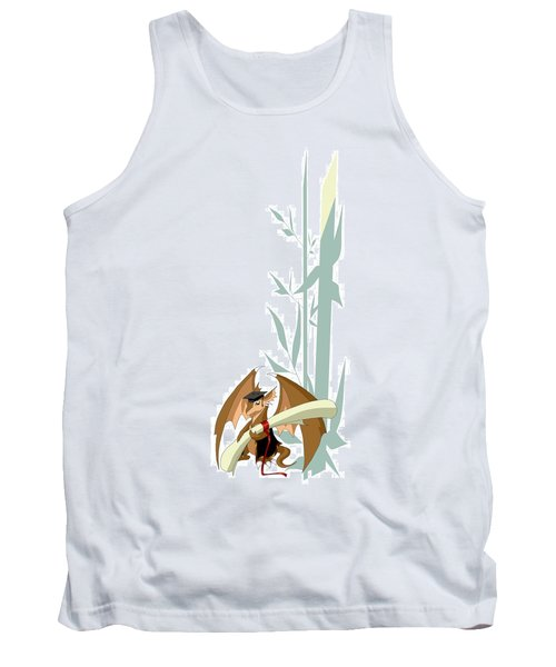 Graduation Dragon With Bamboo Tank Top