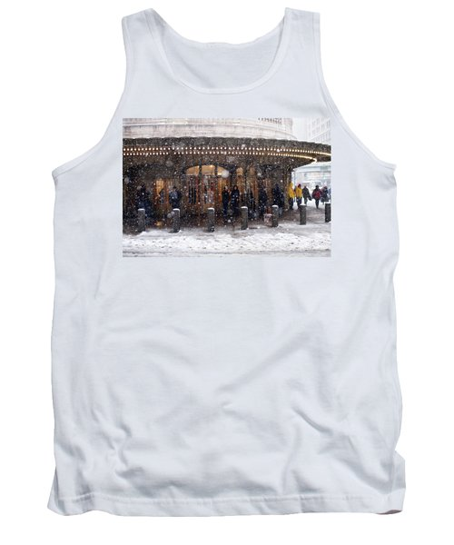 Grand Central Terminal Snow Color Tank Top