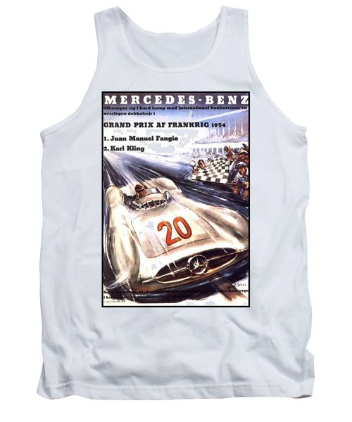 Grand Prix F1 Reims France 1954  Tank Top