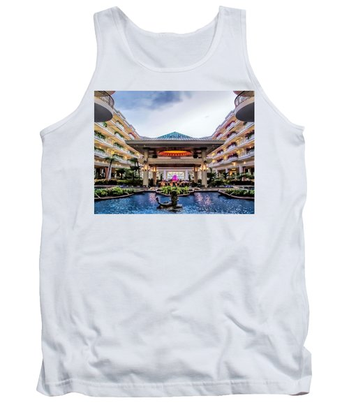 Tank Top featuring the photograph Grand Wailea 74 by Dawn Eshelman