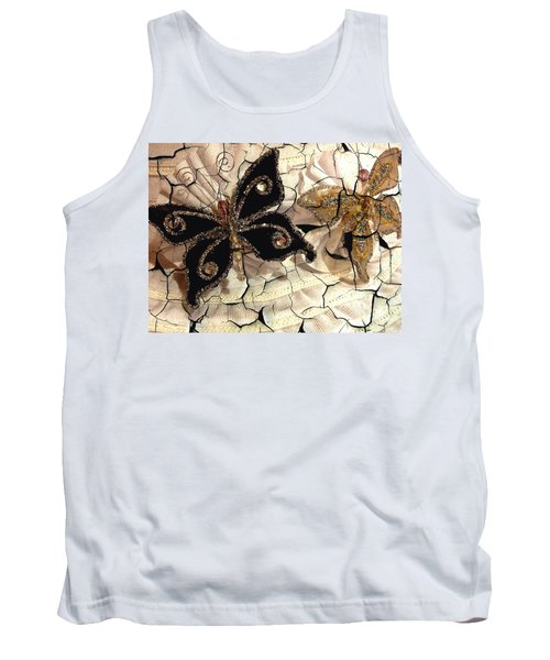 Grandmother's Brooches Tank Top