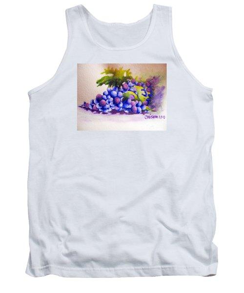Grapes Tank Top by Chrisann Ellis