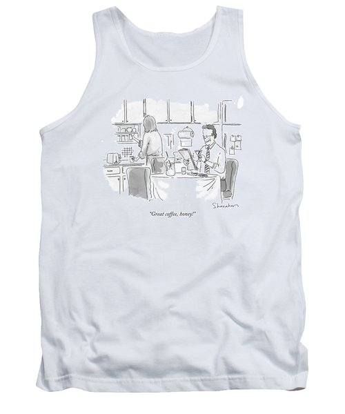 Great Coffee Tank Top