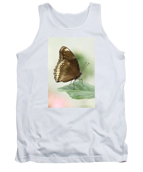 Great Eggfly Butterfly Tank Top by Judy Whitton