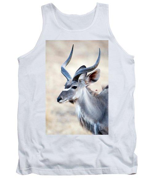 Greater Kudu Tragelaphus Strepsiceros Tank Top