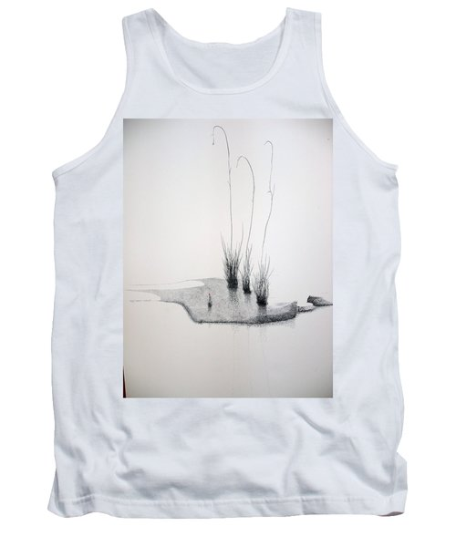 Tank Top featuring the painting Greek Chorus by A  Robert Malcom
