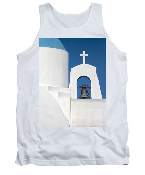 Greek Island Church Tank Top