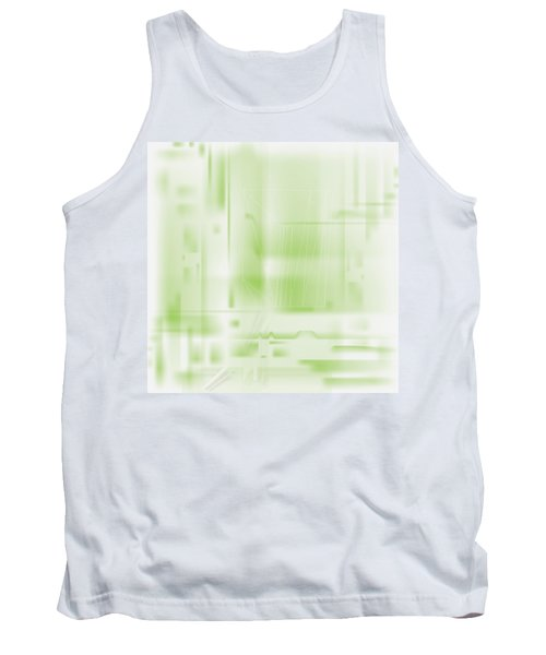 Green Ghost City Tank Top
