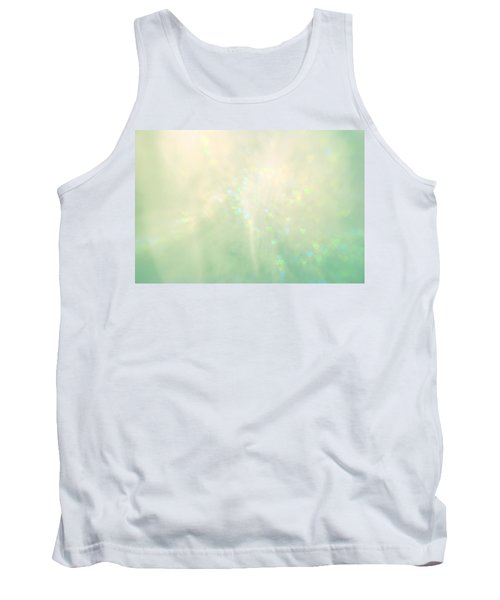 Green Hearts Tank Top