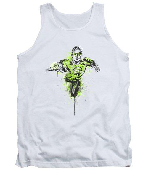 Green Lantern - Inked Tank Top