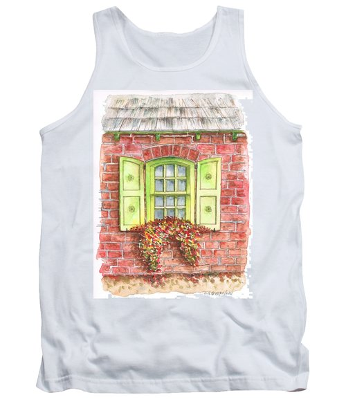 Green Window Tank Top