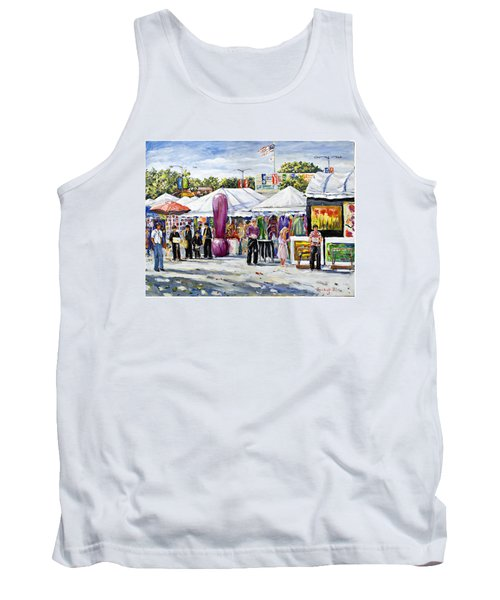 Greenwich Art Fair Tank Top