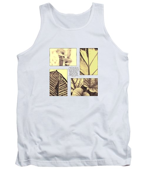 Tank Top featuring the photograph Growth by John Hansen