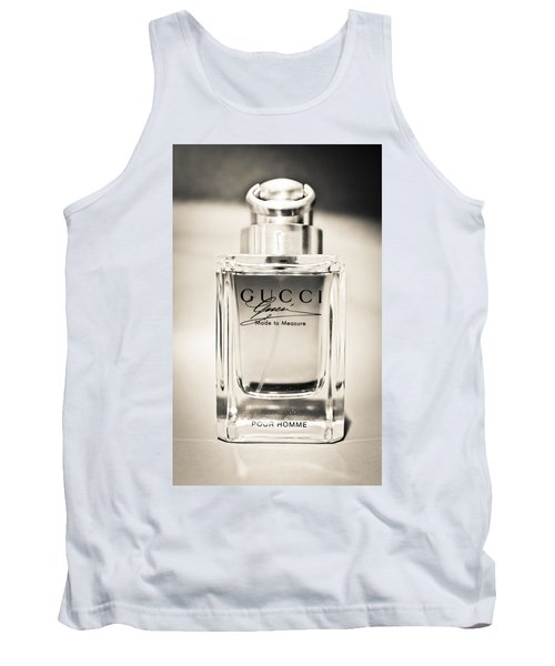 Aaron Lee Berg Tank Top featuring the photograph Gucci Made To Measure  by Aaron Berg