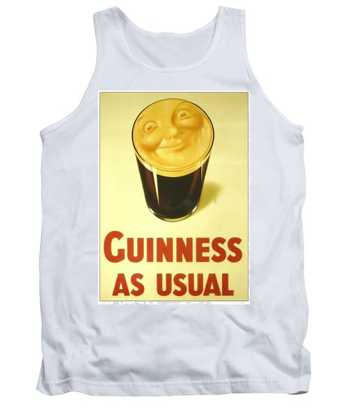 Guinness As Usual Tank Top