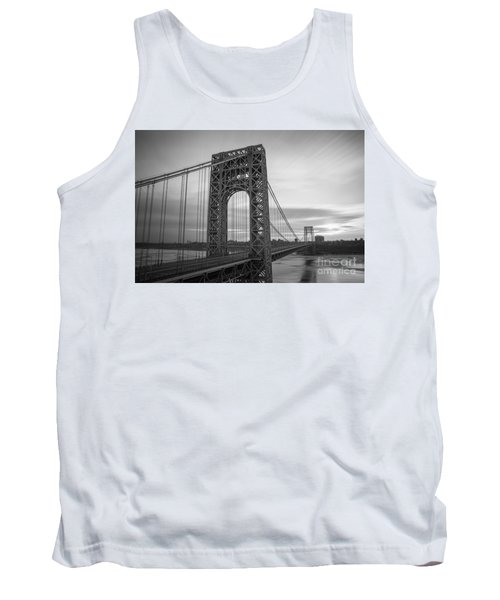 Gw Bridge Winter Sunrise Tank Top