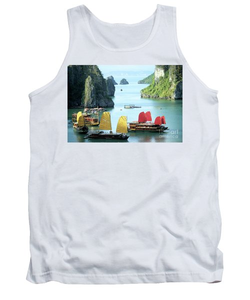 Halong Bay Sails 01 Tank Top