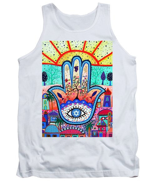 Hamesh Evil Eye Tank Top