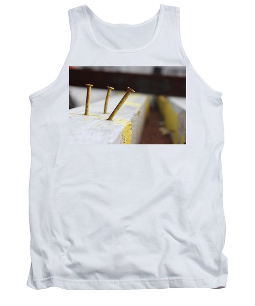 Hammer And Nail Tank Top by Tiffany Erdman