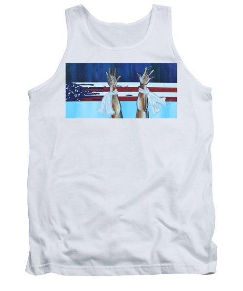 Hands Up Dont Shoot Tank Top