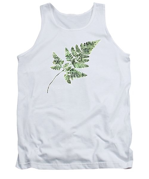 Happy Adventure Music Fern Tank Top by Sandra Foster